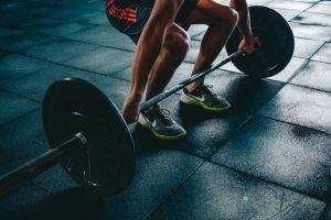 weights ankle sprain